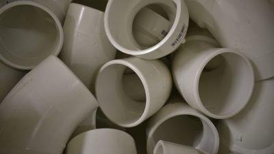 sewer trap pvc pipe