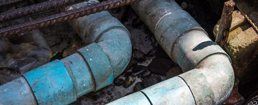 sewer main lines