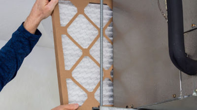 hands on air filter